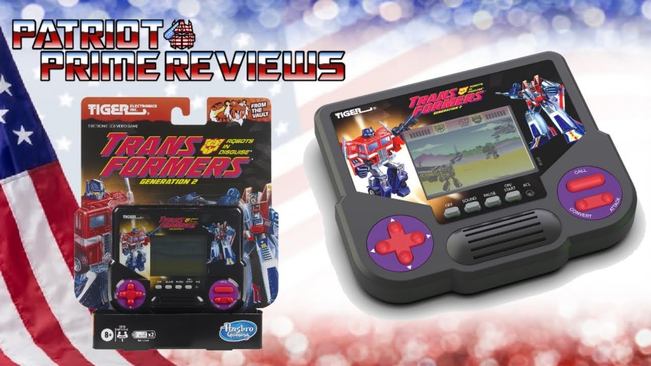 Patriot Prime Reviews Tiger Electronics G2 Handheld Game