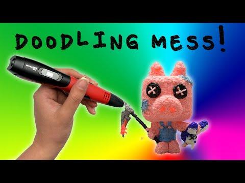 DIY Funko Pop - A Cute MURDEROUS Pig - 3D pen Review
