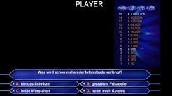 Wer wird Millionär Software  - who wants to be a millionaire Software