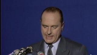 Déclaration Chirac