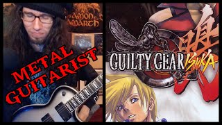 "Professional Metal Guitarist REACTS to Guilty Gear Isuka ""Home Sweet Grave"""
