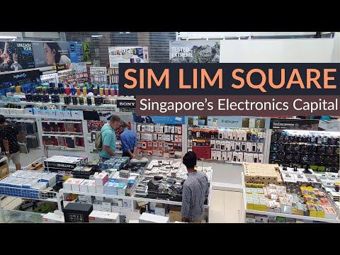 Sim Lim Square Showcase