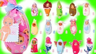 Baby Born Surprise Dolls Opening with LOL Surprise Dolls Babysitting