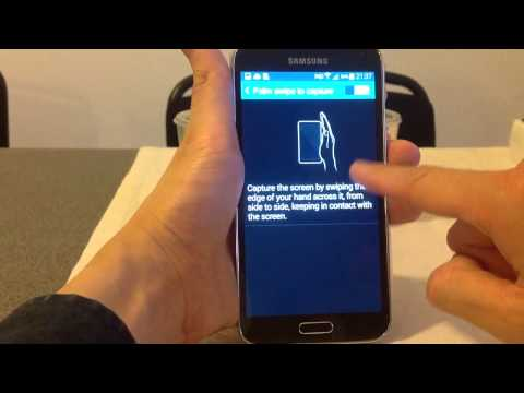 How to screenshot samsung s6 edge plus