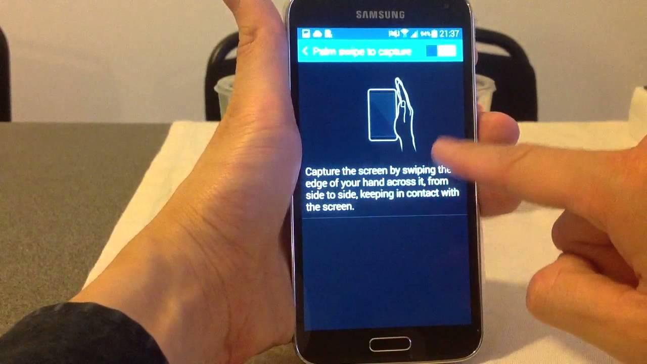 Take A Screenshot On Samsung Galaxy S5 S6 S7 S8 S9 Using