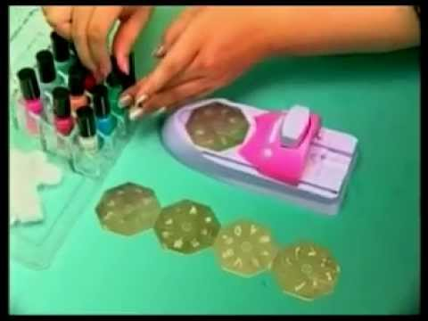 W234 Cash Converters Nail Art Printing Machine Instructional Video