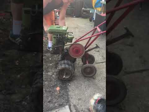 Merry tiller rotorvator vintage Honda Engine