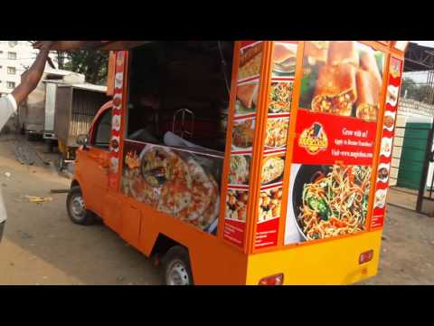 Mobile food van in Hyderabad call 9849077810
