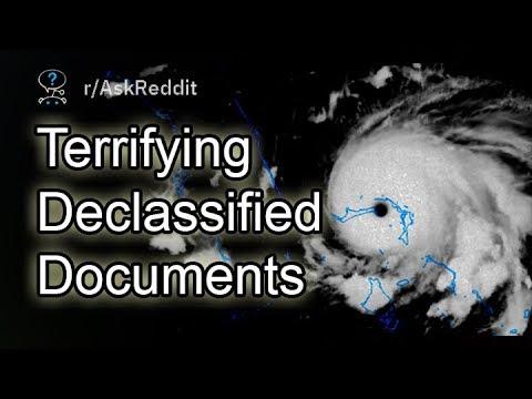 Terrifying Declassified Documents