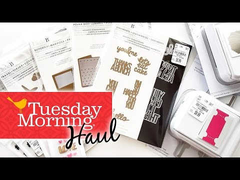 HUGE Tuesday Morning HAUL || April 2017 + GIVEAWAY