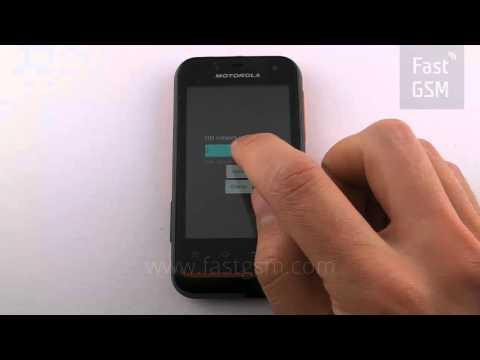 How to unlock Motorola Defy Mini XT320