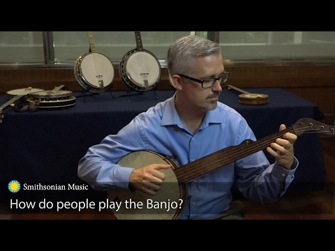 Greg Adams tells us how to play the banjo