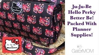 Ju-Ju-Be | NEW HELLO PERKY better be bag packed with planner supplies