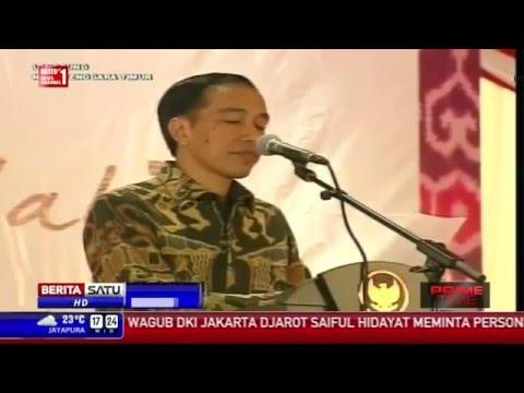 Ini dia Pesan Natal Presiden Jokowi Saat Merayakan Natal Nasiaonal Di Kupang   NTT