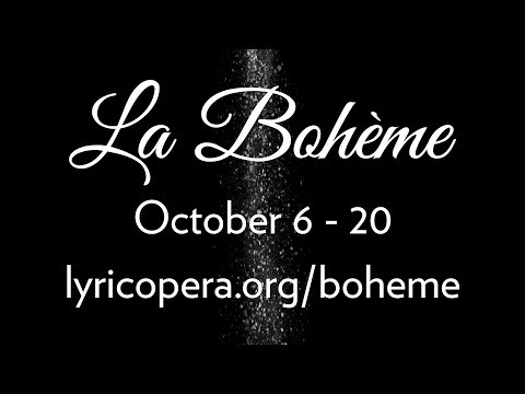 Set Insights: The Snow of LA BOHÈME // On stage at Lyric Opera October 6