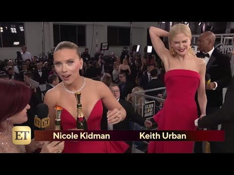 Watch Nicole Kidman 'CRASH' Scarlett Johansson's Interview! | Golden Globes 2020