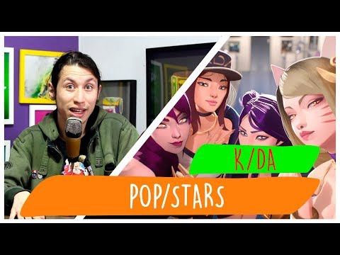 REAGINDO À K/DA – POP/STARS (ft Madison Beer, (G)I-DLE, Jaira Burns)
