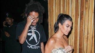 Kourtney Kardashian & Luka Sabbat Get Super Cozy While Entering Hotel After Night Out — New Couple?