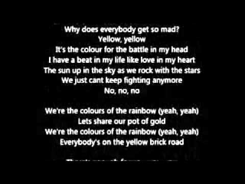 Jessie J - Rainbow (lyrics)