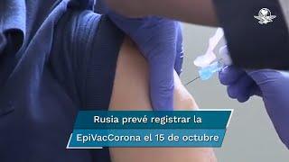 Según autoridades rusas, la vacuna contra el Covid-19 contiene antígenos peptídicos sintéticos, fragmentos del virus, que ayuda al desarrollo de la inmunidad contra la enfermedad