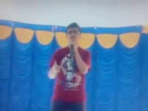 Indian student raps eminem (When i'm gone)