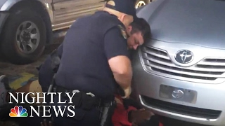 Video of Police Shooting Death of Alton Sterling Stirs Outrage | NBC Nightly News(A newly-released cell phone video shows Alton Sterling being shot by an officer at point-blank range during an altercation. The shooting occurred as an officer ..., 2016-07-06T23:47:30.000Z)