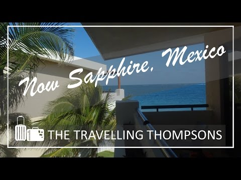 Now Sapphire All Inclusive - Riviera Cancun Mexico - Tour to our Room | How to Travel Mexico
