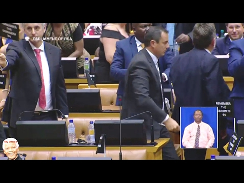 MUST WATCH | DA Follows EFF Out Off SONA 2017
