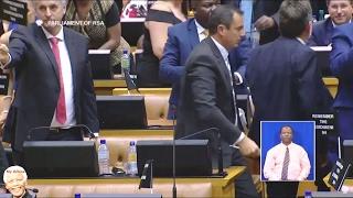 MUST WATCH | DA Follows EFF Out Off SONA.