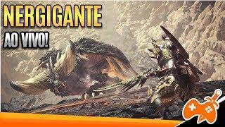 Monster Hunter World - Consegui Solar o Nergigante! Charge Blade