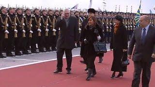 Москва встречает Президента Аргентины Кристину Киршнер