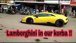 Lamborghini in Our Korba !!