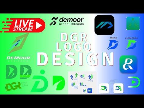 🔴  DGR LOGO DESIGN Final Brainstorming Session