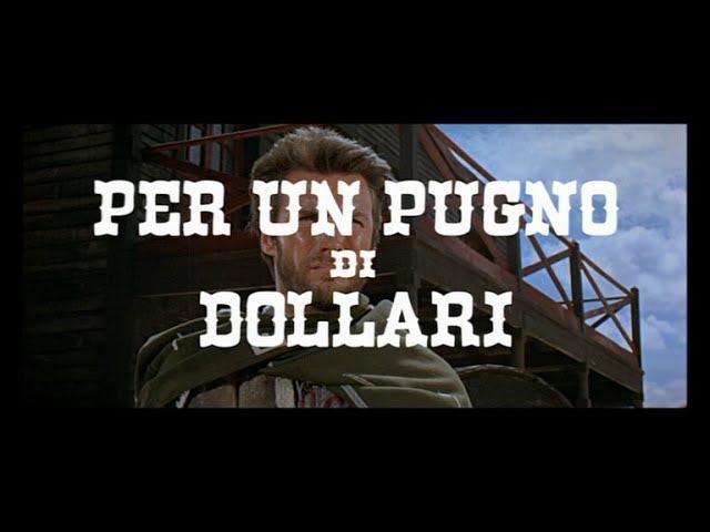 Per un pugno di dollari - Trailer - 1964. Regia di Bob Robertson (Sergio Leone)