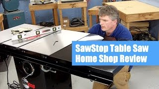 Sawstop Table Saw Review Pt. 1 | The New Saw Arrives