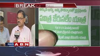RTC ED Koteswara Rao Face To Face Over Religious Propaganda With Bus Tickets