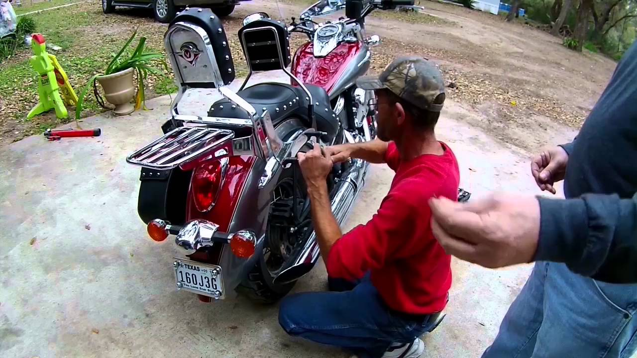 Kawasaki Vn Mustang Backrest