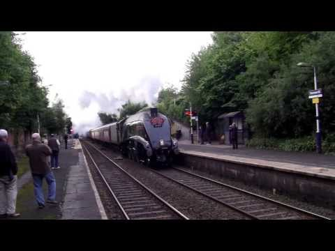 Farnworth Railway Station - featuring LNER A4 60009 Union of South Africa
