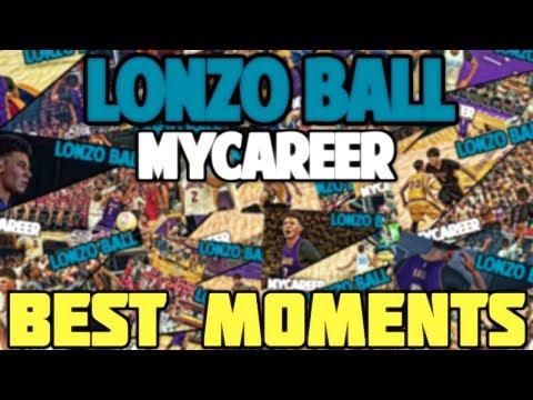 NBA 2K17 LONZO BALL MyCareer BEST MOMENTS COMPILATION/MONTAGE LONZO'S ROOKIE SEASON