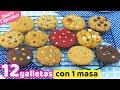 12 GALLETAS DIFERENTES CON 1 SOLA MASA | QUIERO CUPCAKES