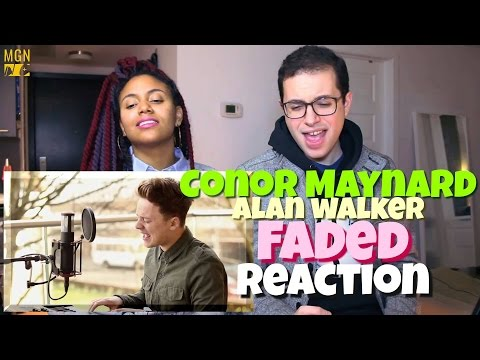 Conor Maynard - Faded (Alan Walker) Reaction