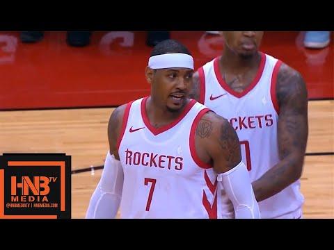 Houston Rockets vs Indiana Pacers 1st Half Highlights | 04.10.2018, NBA Preseason