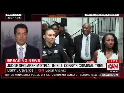 Breaking News Judge declares a mistrial in Bill Cosby's Criminal Case