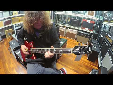 Postive Grid Amp Head and Duesenberg Bonneville Demo featuring Danny Jackson