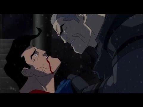 Обзор на Бэтмен: возвращение темного рыцаря. Часть 2 (Бэтмен против Супермена)