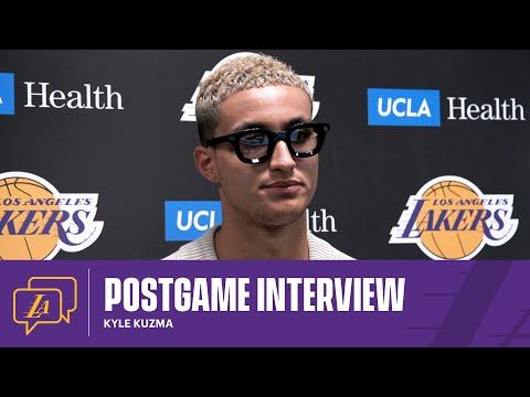 Lakers Postgame: Kyle Kuzma (4/13/21)