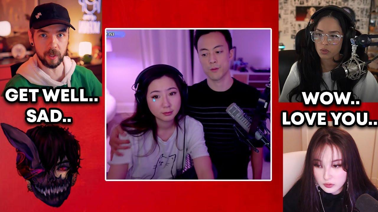 Download Streamers react to Fuslie and Edison officially breaking up