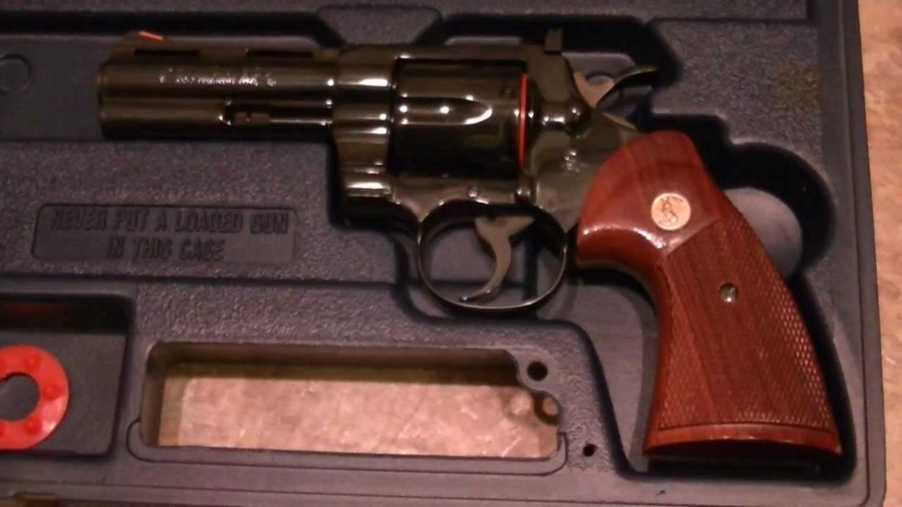 My Colt Python  357 Magnum - Four-Inch Barrel