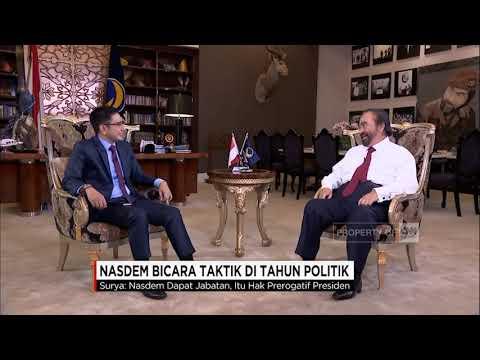 Wawancara CNN Indonesia dengan Ketua Umum NasDem Surya Paloh (segment 2)