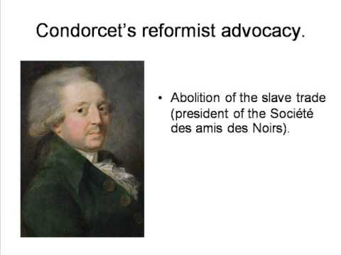 Condorcet: 2. Social Reformism and Analysis